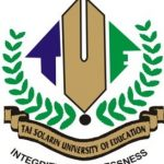 TASUED JUPEB Admission List 2018/2019 Academic Session Is Out-Check List Here.