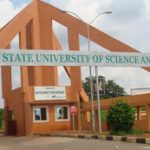 ESUT Supplementary Admission Form For 2019/2020 Academic Session.