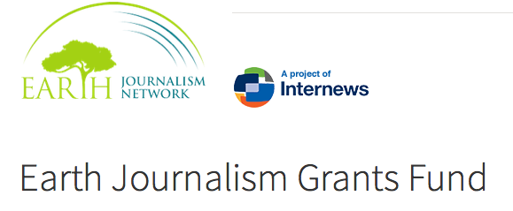 Internews' Earth Journalism Network West African Fisheries Reporting Grants 2017