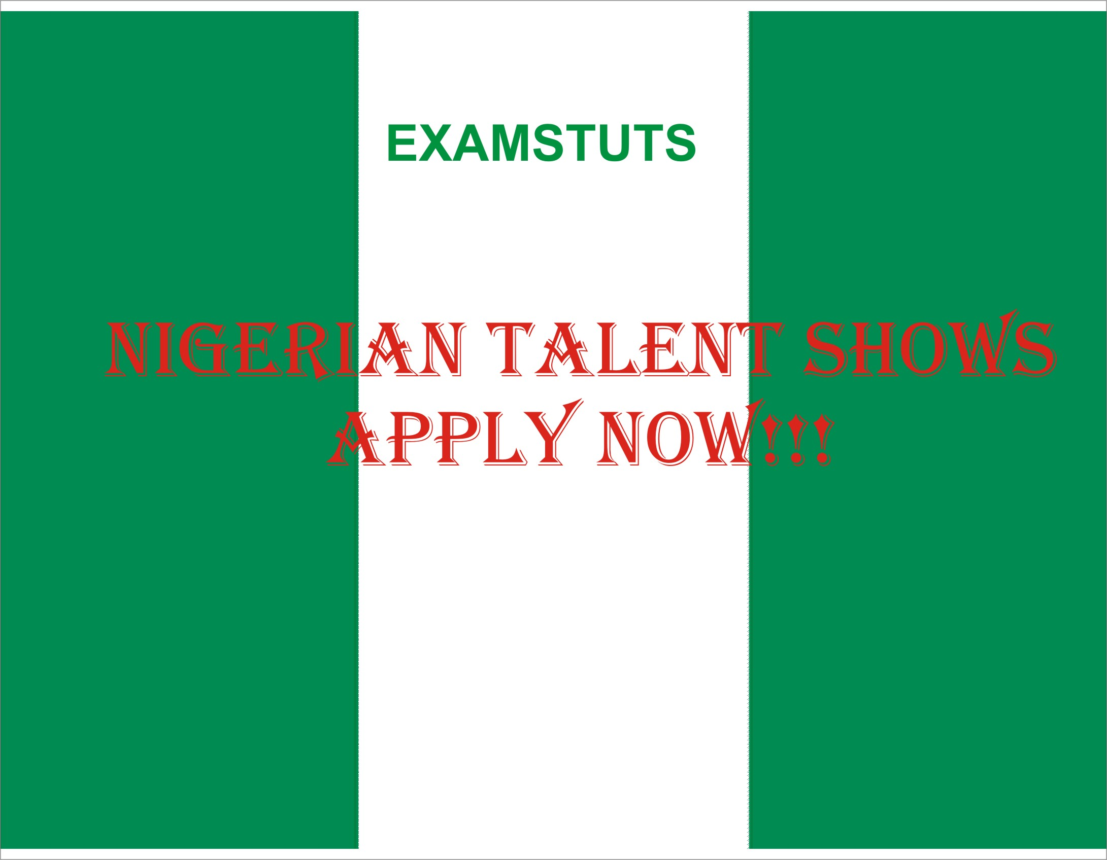 Nigerian Talent Shows 2018: List Of Talents Shows And