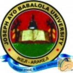 JABU Admission List 2018/2019