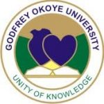Godfrey Okoye University Post-UTME Form 2018