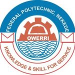 NEKEDEPOLY  Supplementary Admission Form For 2018/2019 Academic Session.