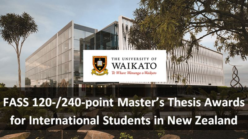 FASS 120-/240-point Master's Thesis Awards