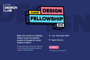 (CcHUB) 2019 Design Fellowship