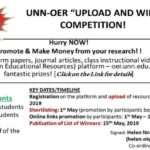 UNN-OER 'Upload and Win' Competition 2019-How To Join