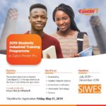 Egbin Power Plc Students Industrial Training Programme (SIWES) 2019