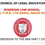 NLS Bar Part I Course Admission Application Form for 2019 Session-How To Apply For Admission