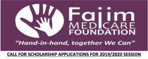FAJIM Medicare Foundation Scholarship