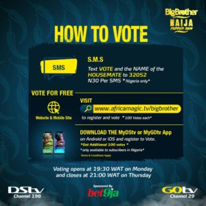 How To Vote on Big Brother Naija