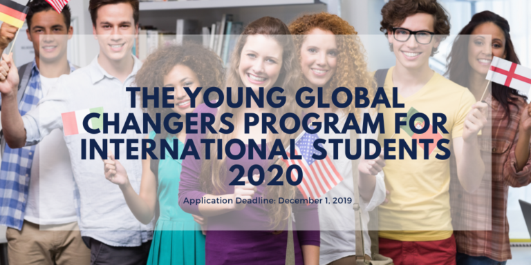 The Young Global Changers Program 2020